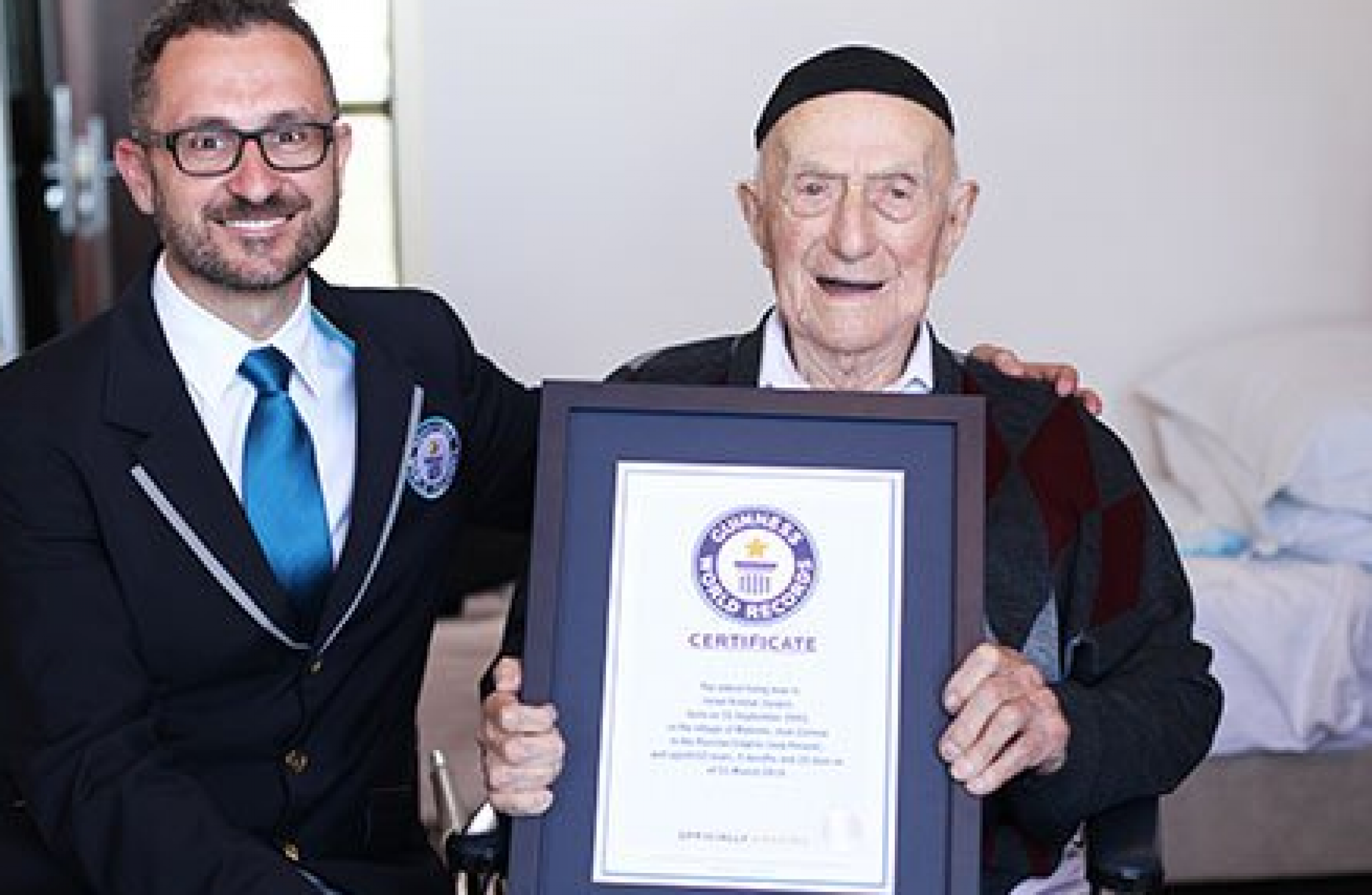 World's oldest man dies in Israel aged 113