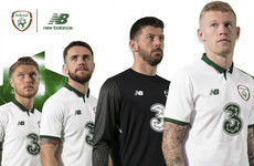 Ireland's white New Balance away kit has just been launched
