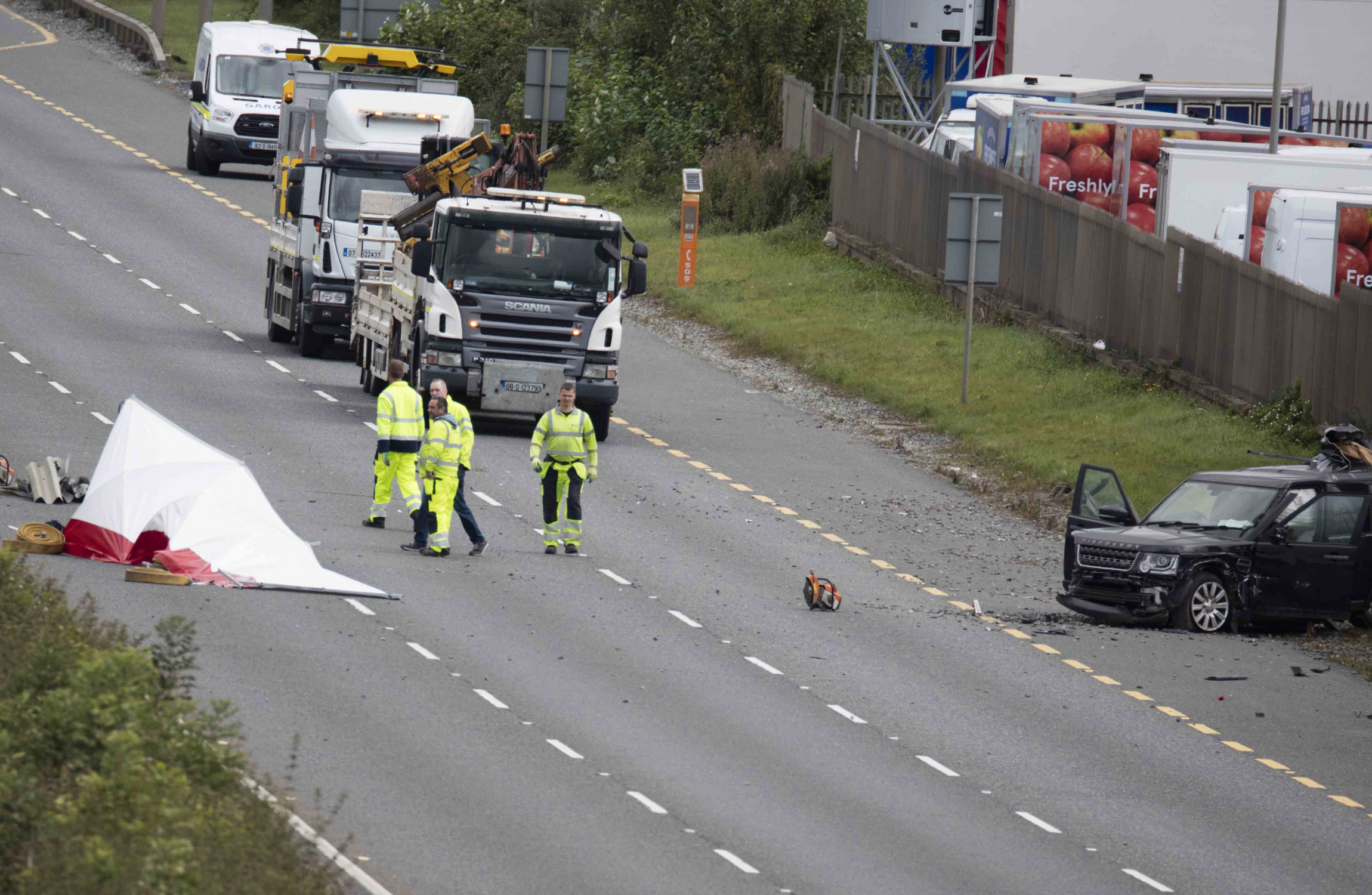 Man Dies After Crash On N7 In Dublin