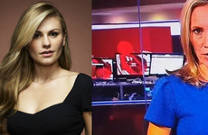 X-Men actress Anna Paquin just realised that she was the topless woman shown on BBC News this week