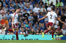 Ireland's Stephen Ward scores absolute stunner as Burnley conjure big shock at the Bridge