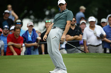 McIlroy and Lowry struggle as Kevin Kisner retains US PGA lead after steady third round