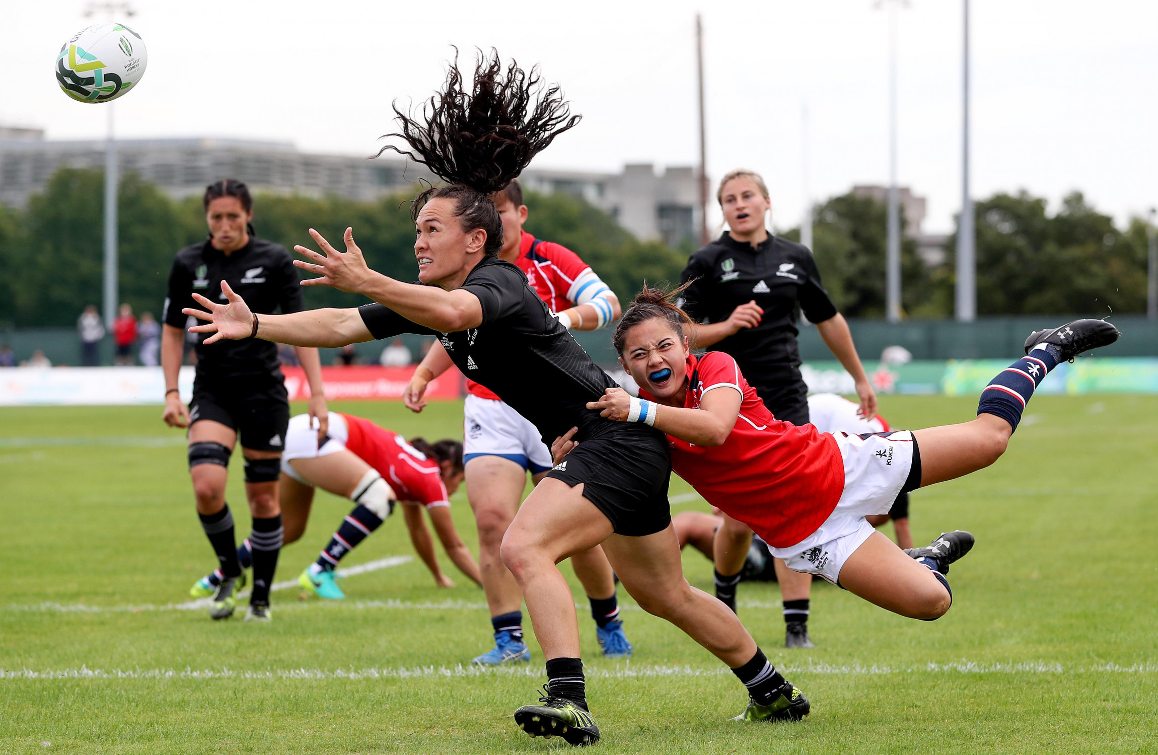 New Zealand thrash Hong Kong 121-0 in Women's Rugby World Cup