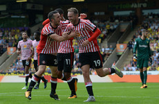 Watch: Stunning Aiden McGeady strike helps Sunderland earn first win of the season