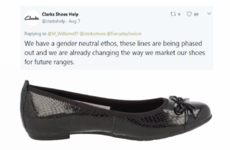 Clarks are pulling the controversial shoes that caused a scandal over sexist marketing last week