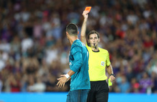 Revisiting Cristiano Ronaldo's 10 career red cards