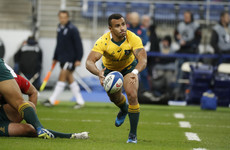 Will Genia is returning to Super Rugby after two years with Stade Francais