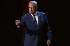 "Al Gore warns Irish government to ""move more quickly"" on climate change"