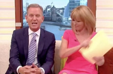 Jeremy Kyle got schooled on sex education this morning and everyone's morts for him