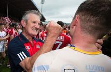 Cork's hurling resurgence earns Kieran Kingston manager of the month award