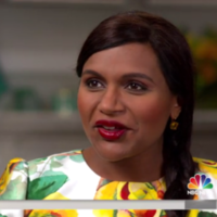 Mindy Kaling has spoken out for the first time about becoming a mam