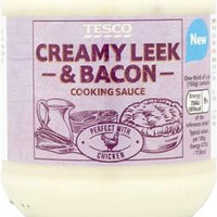 Tesco recalls batch of Creamy Leek and Bacon Cooking Sauce over 'undeclared egg'