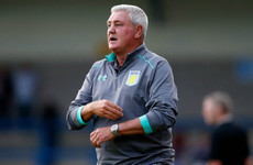 Fans of Championship favourites Aston Villa got 'carried away' after Terry signing says Bruce