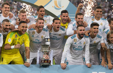 Zidane lauds 'spectacular' Real Madrid after Super Cup triumph