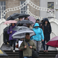 Rainfall warning for five counties as US hurricane impacts on Irish weather