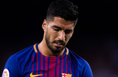 Things going from bad to worse for Barca as Suarez ruled out for a month