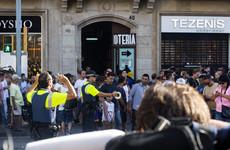 Police in Catalonia say driver in Barcelona van attack still on the run