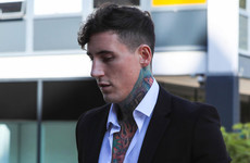 After being found guilty of assaulting his pregnant ex, Jeremy McConnell's latest Instagram post is infuriating