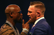 Mayweather says he's going 'straight ahead' at McGregor