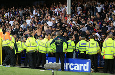 Everton and Hajduk Split in hot water with Uefa after crowd trouble mars Europa League play-off