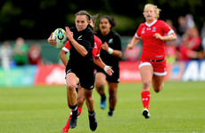 Pace, power and outstanding offloading - the top 5 tries from yesterday's WRWC action
