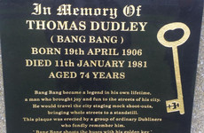 Dublin café Bang Bang are unveiling the memorial they made for the famous Dubliner their café is named after
