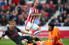 Jese hold on! Dream debut for the Spaniard as Arsenal suffer painful early setback at Stoke