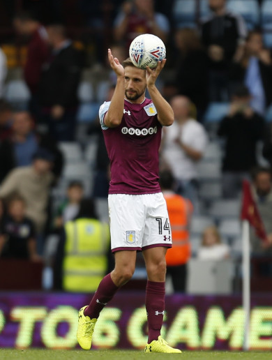 Aston Villa boss Bruce hails 'terrific' hat-trick hero Hourihane