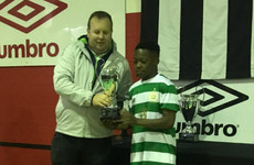 Celtic teenage prodigy Dembele shines in Dublin to claim Player of the Tournament