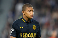 Kylian Mbappe sent home from Monaco training following row with team-mate