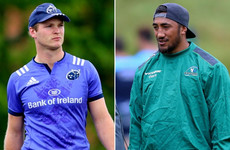 First taste of life in the Ireland squad for Bleyendaal and Aki