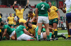 Ireland out-powered and out-played by Australia as World Cup campaign hits rock bottom in Belfast