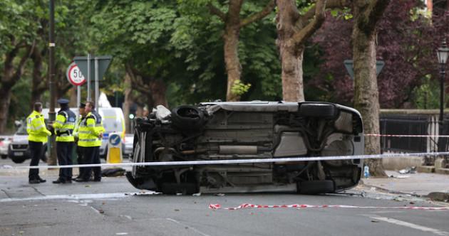 Six people struck by auto  in Dublin