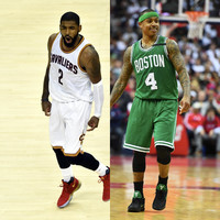 Massive NBA trade as Boston pick up superstar Kyrie Irving and send Isaiah Thomas to Cleveland