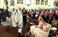 'If you can dance in a hotel you can dance in a church': A Galway priest has gone viral with this lovely wedding moment