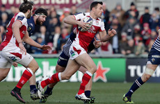 'He's enjoying playing there': Ulster using fit-again Bowe in new midfield role