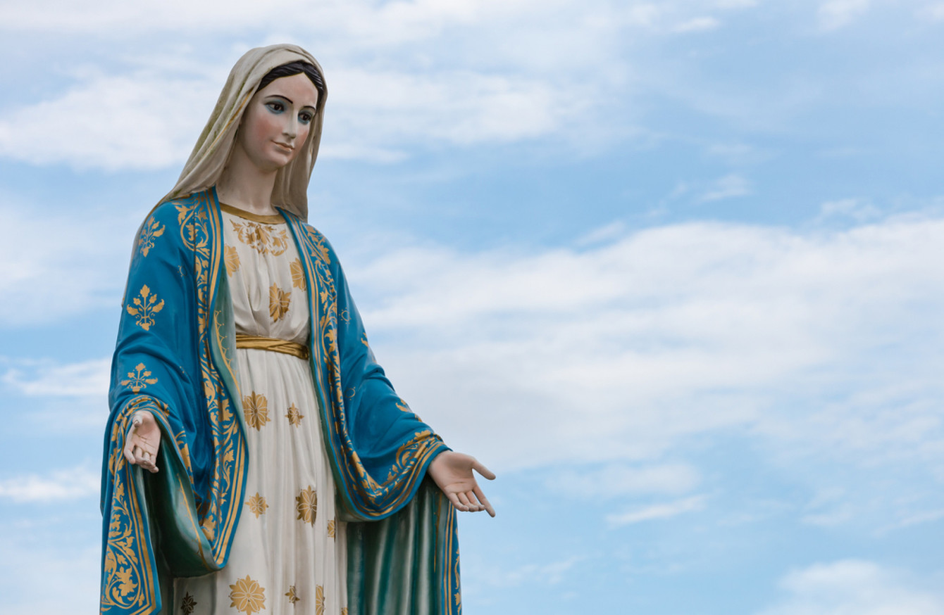 School Teacher And Caretaker Scuffle Over Virgin Mary Statue