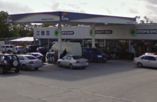 Man arrested over armed raid at petrol station