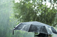 Two status yellow rainfall warnings in place for five counties