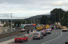 Delays on the Luas green line after child struck by tram