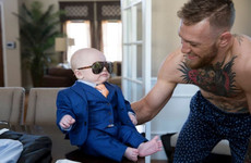 Conor McGregor's designer surprised everyone with an adorable little three-piece suit for Conor Jr