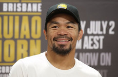 Manny Pacquiao says Conor McGregor won't land 'a meaningful punch' against Mayweather
