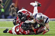 Patriot pains as Brady's favourite target suffers season-ending injury