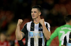 Irish international on target as Newcastle pick up first win of season