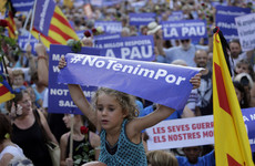 Pictures: Thousands take to Barcelona streets with message of 'we are not afraid' after terror attack
