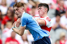 Derry survive stern Dublin test to seal first All-Ireland minor final in 10 years