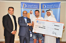 Football legend Xavi wins over €225,000 in Qatari bank's prize draw