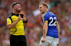 'A disgraceful decision, I think it's Cillian O'Connor should have got the black card here'