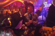 Footage has emerged of Robbie Keane and Conor McGregor having major chats at the Vegas after party... it's the Dredge