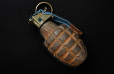 Hand grenade from nearly 100 years ago destroyed in controlled explosion near American embassy